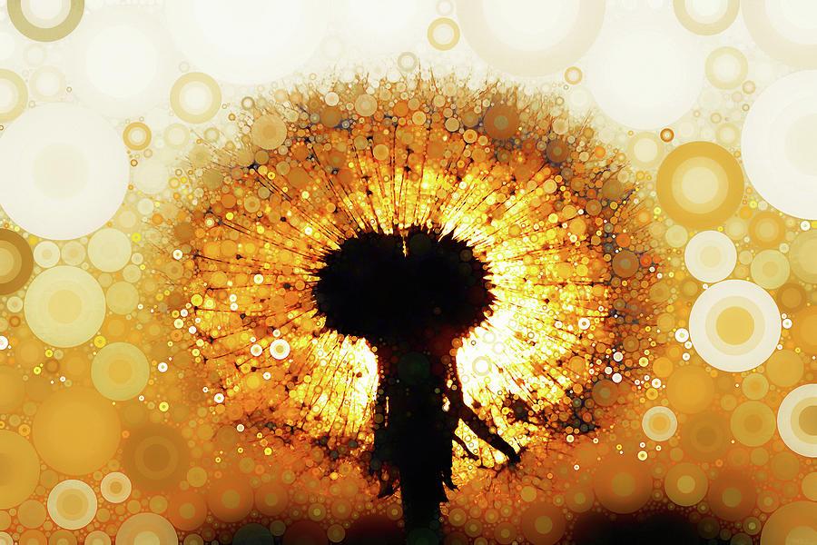 Dandelion Sunrise by Susan Maxwell Schmidt