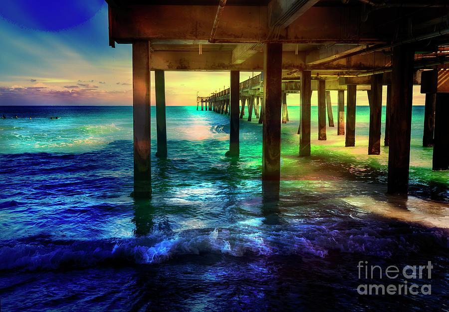 Dania Beach Pier Series 8228 by Carlos Diaz