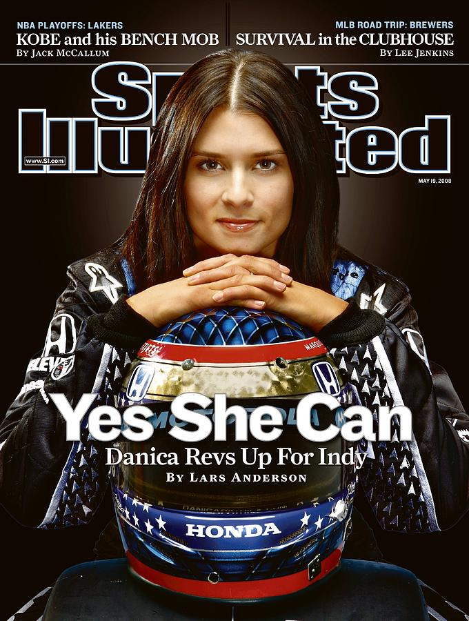 Danica Patrick, Indycar Series Driver Sports Illustrated Cover Photograph by Sports Illustrated