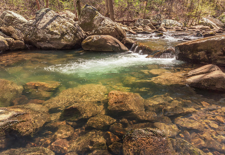 Daniel Creek at Cloudland Canyon State Park by Keith Smith