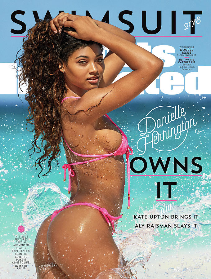 Danielle Herrington Swimsuit 2018 Sports Illustrated Cover Photograph by Sports Illustrated