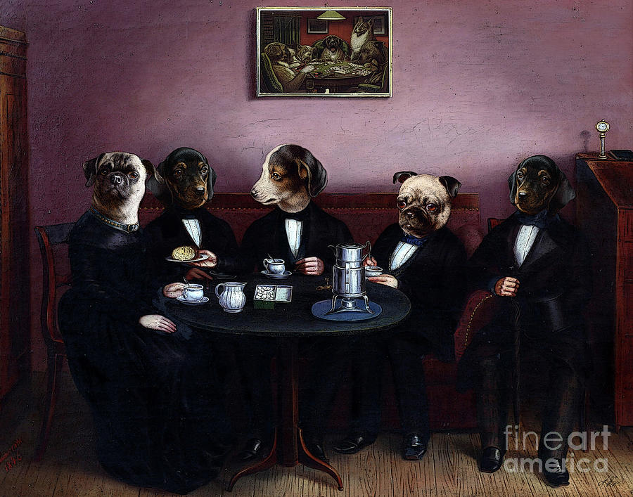 Dapper Dogs by Kenneth Rougeau
