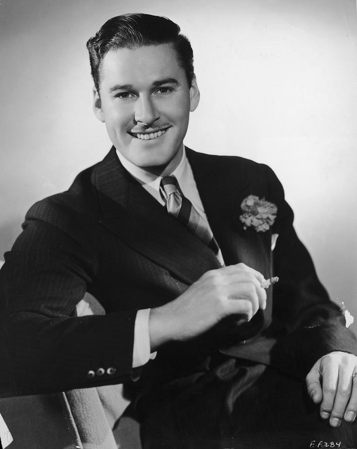 Dapper Flynn Photograph by Hulton Archive