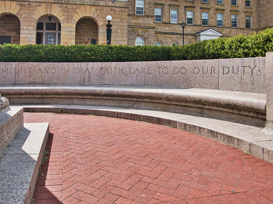 dare to do our duty - Madison -Wisconsin by Steven Ralser