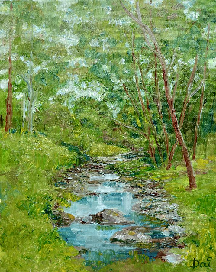 Darebin Creek at Alphington by Dai Wynn
