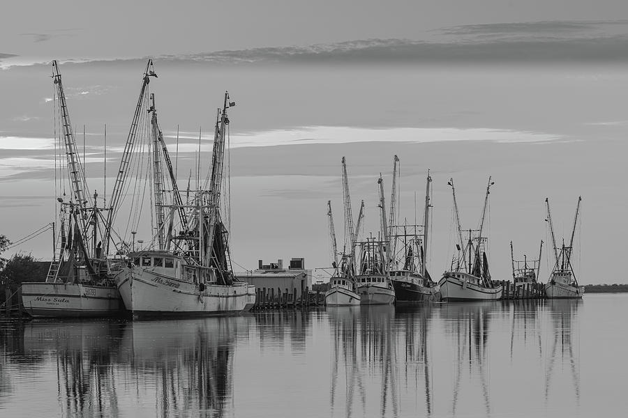 Darien fleet in Black and White by Kenny Nobles