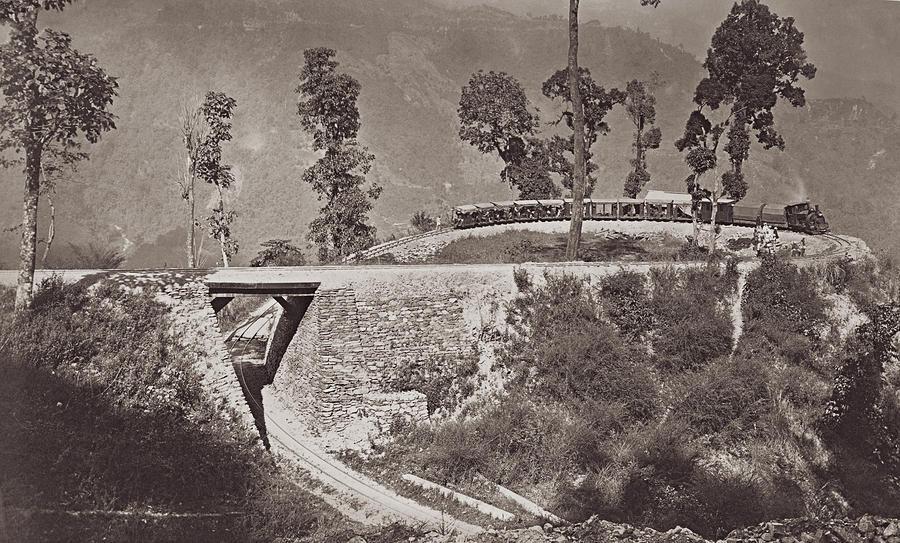 Darjeeling Train Photograph by Hulton Archive