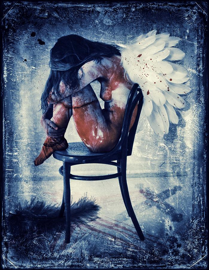 Dark Angel Painting by ArtMarketJapan