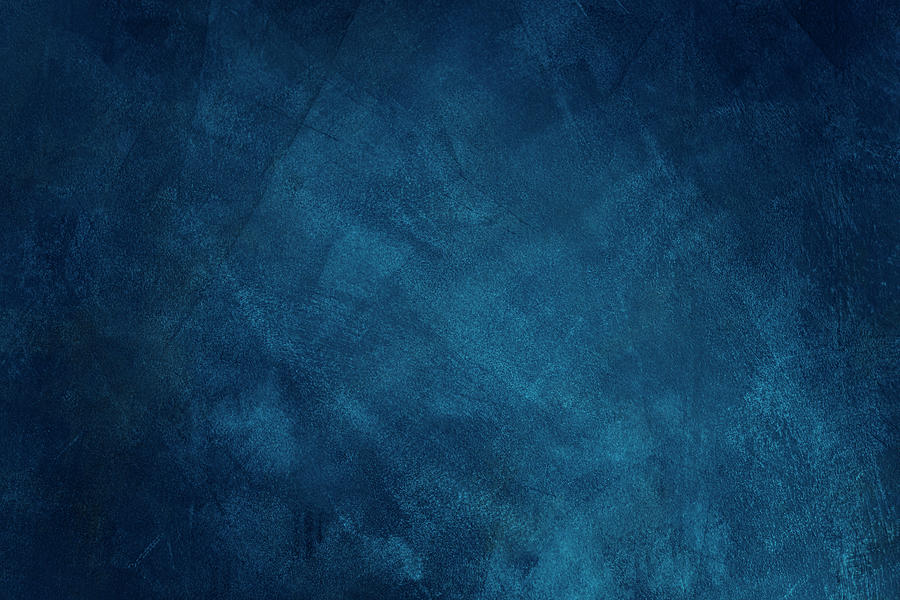 Dark Blue Grunge Background Photograph by Caracterdesign