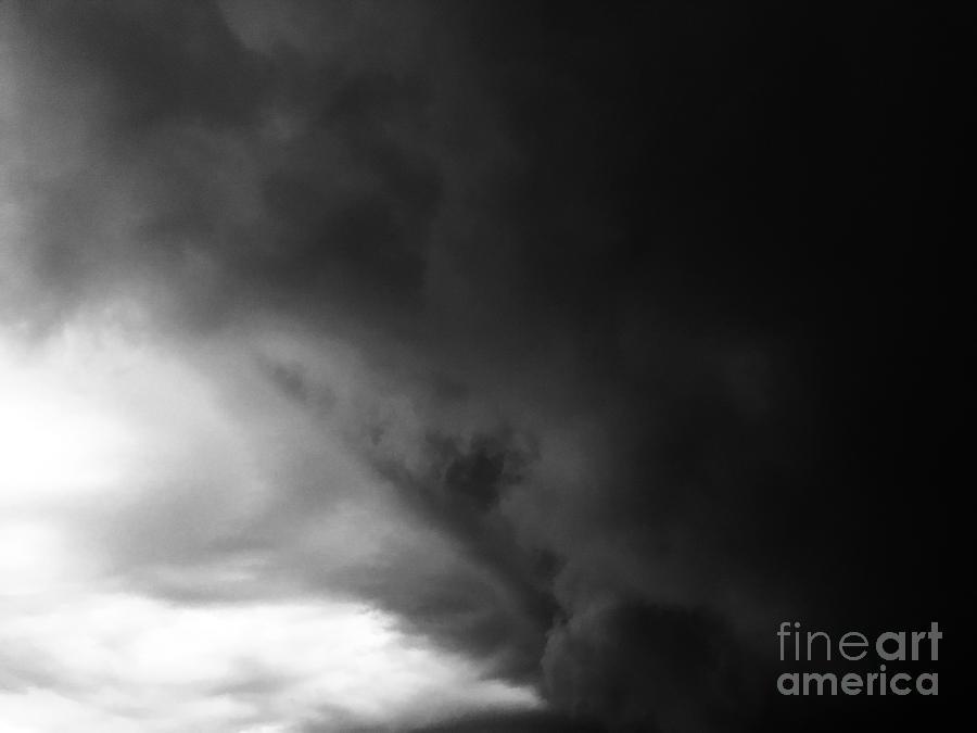 Dark Clouds Photograph