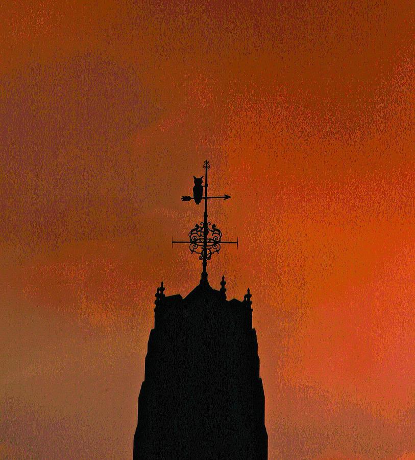 Yale Photograph - Dark by Gillis Cone