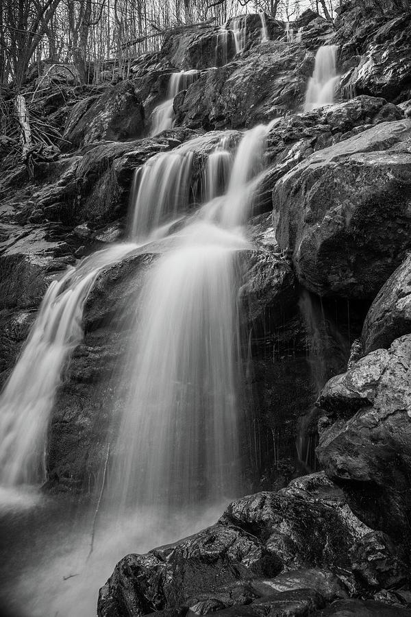 Water Photograph - Dark Hollow Falls - Shenandoah by Kyle Lee