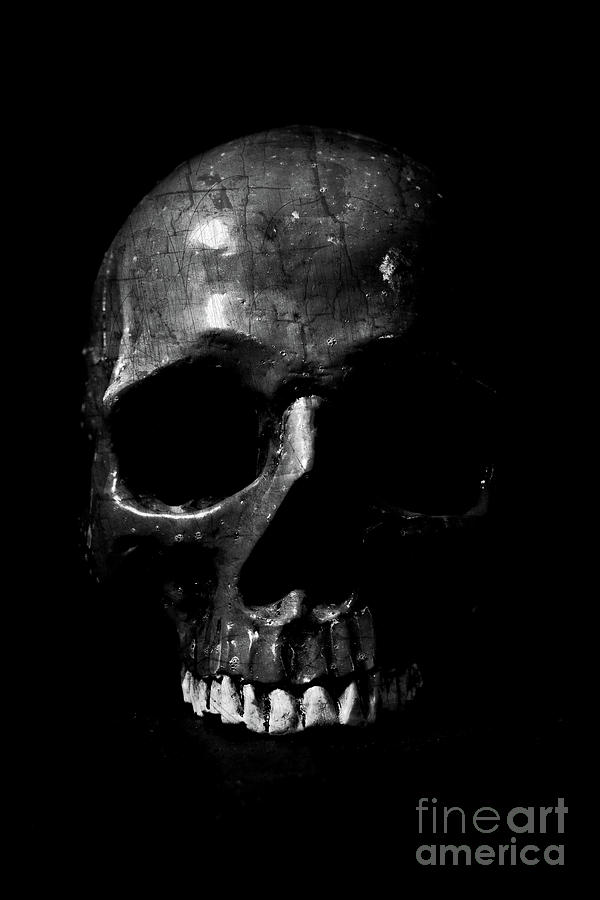 Dark Skull Low Key by Edward Fielding