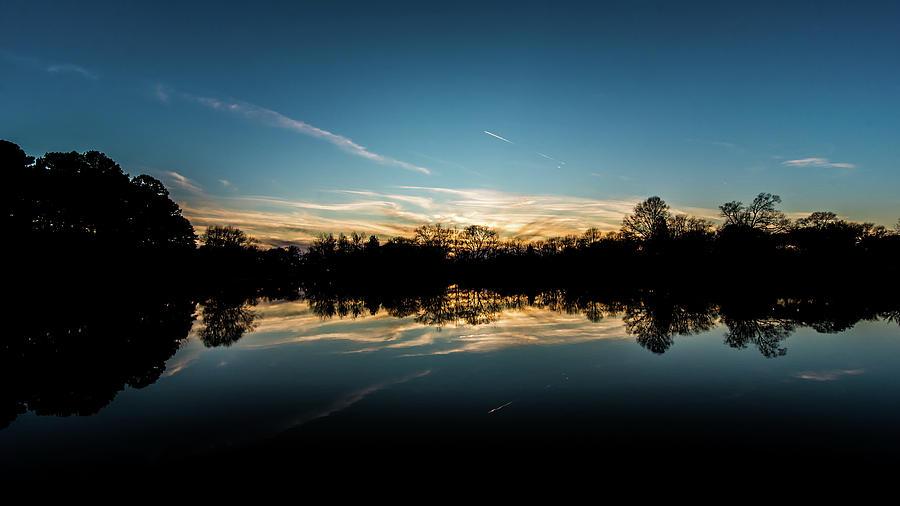 Dark Sunset - Reflections by James-Allen