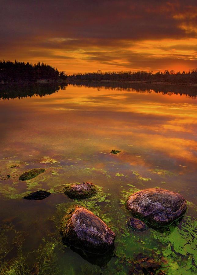 Darker Stage Of Twilight Photograph