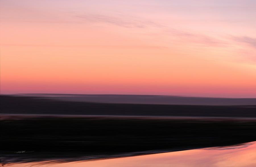 Darkness Settles over the Desert by Roy Erickson
