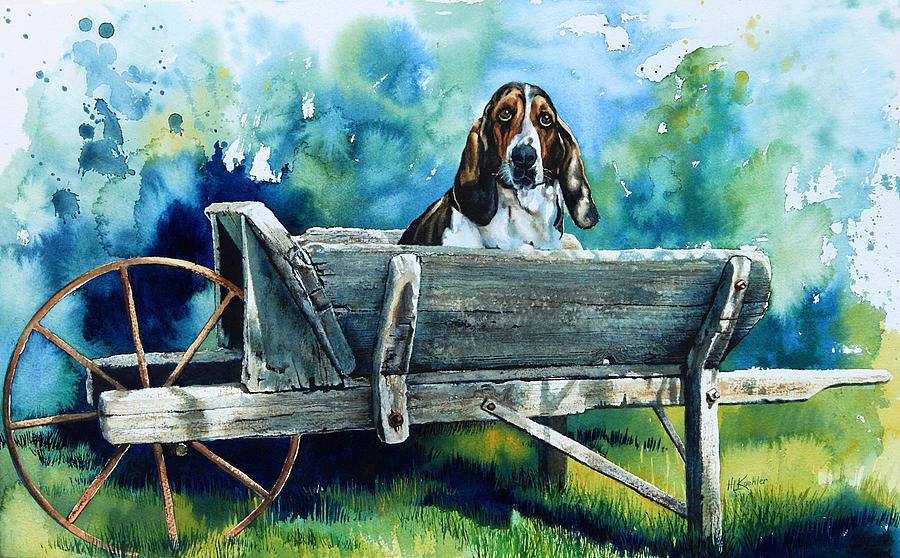 Darn Dog Days Painting