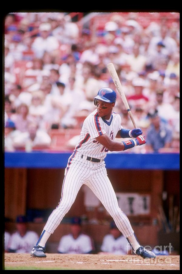 Darryl Strawberry Photograph by Getty Images