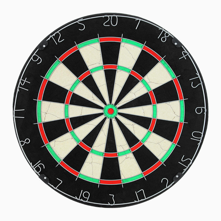Dart Board Photograph by Michael Betts