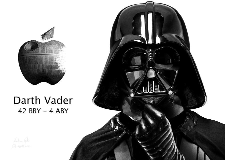Darth Jobs Vader Digital Art
