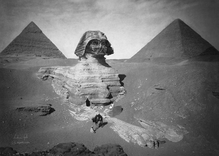 Darth Sphinx Digital Art