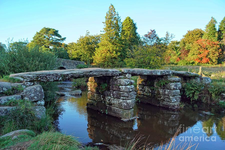 Dartmoor Clapper Bridge by David Birchall