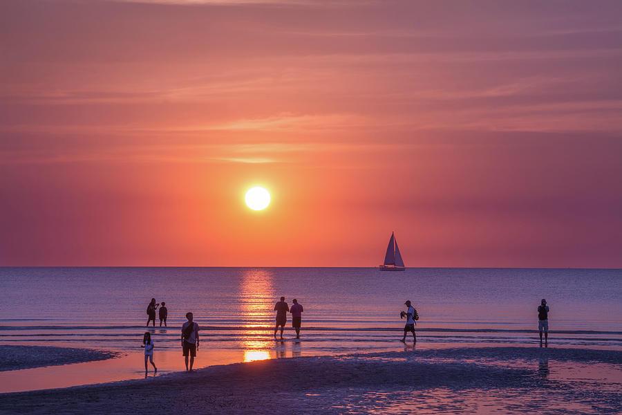 Darwin Sunset by Racheal Christian