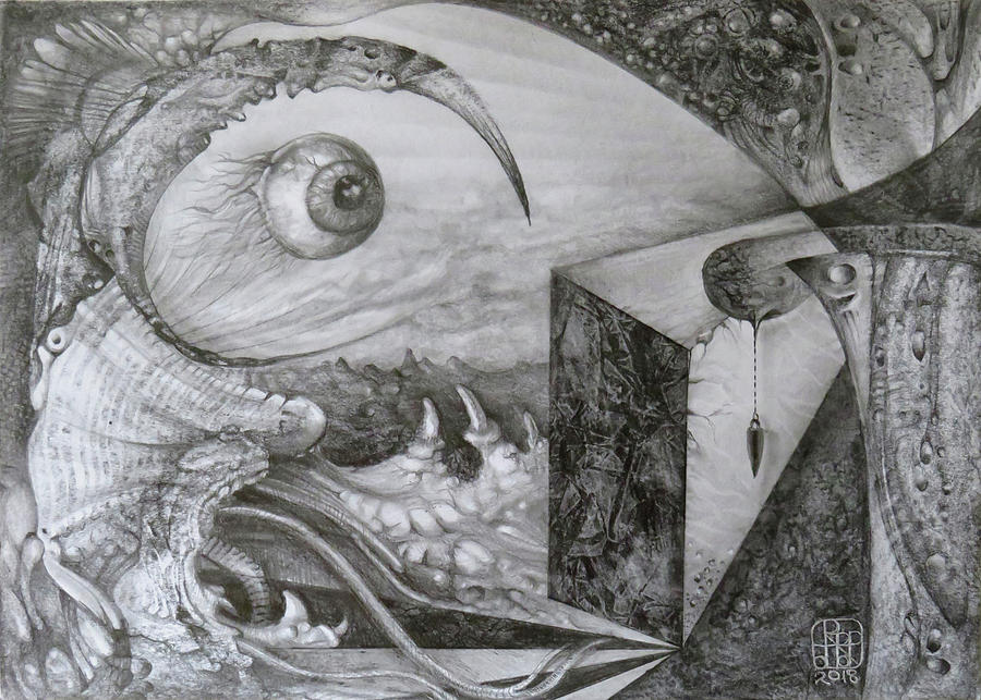 Das Unernstlich Schweigende Auge Drawing