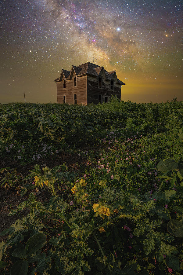 Milky Way Photograph - Daunting  by Aaron J Groen