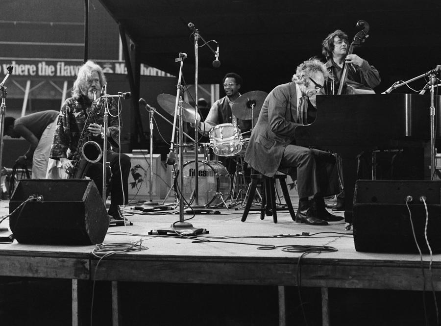 Dave Brubeck Quartet Photograph by David Redfern