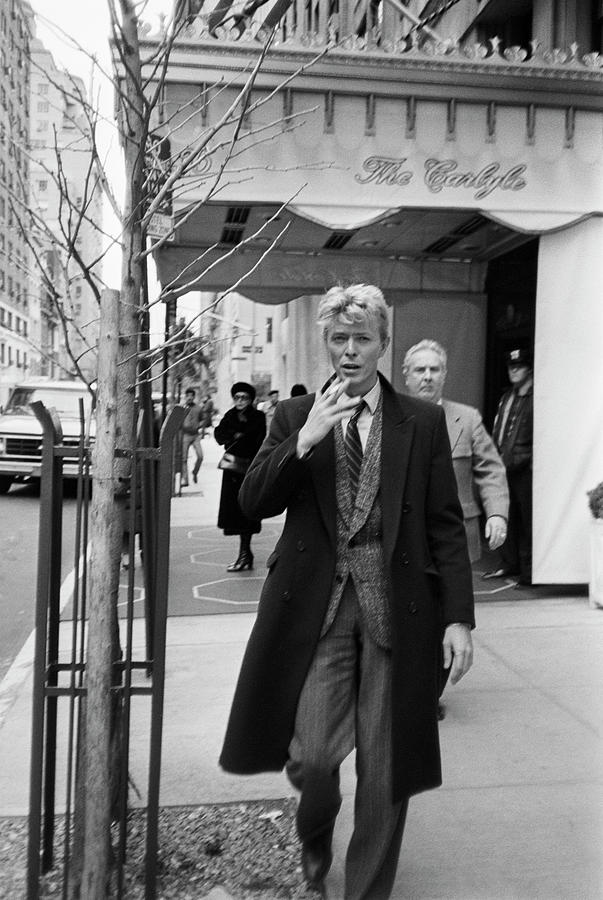 David Bowie Photograph by Art Zelin