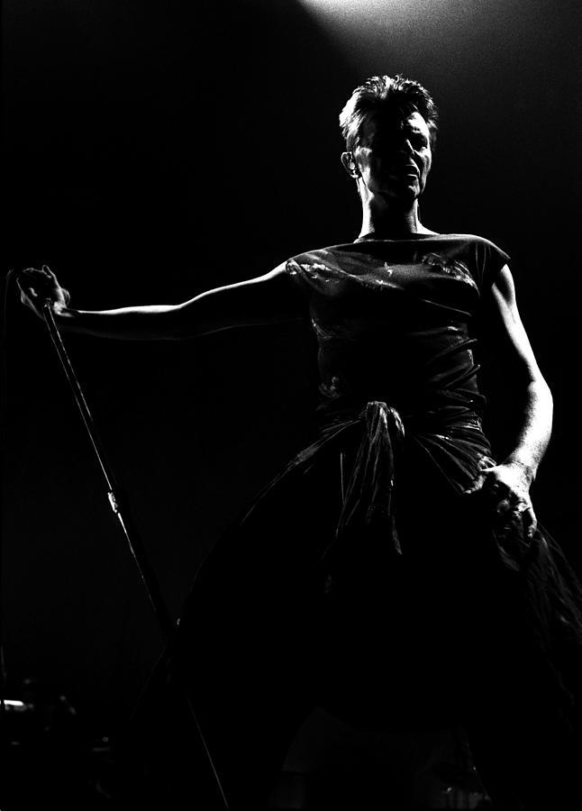 David Bowie Photograph by Paul Bergen