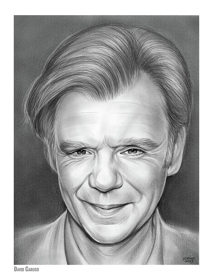 David Caruso Drawing
