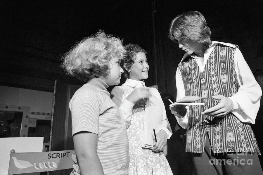 David Cassidy Signing Autographs Photograph by Bettmann
