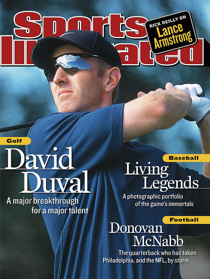 David Duval, 2001 British Open - Final Round Sports Illustrated Cover Photograph by Sports Illustrated