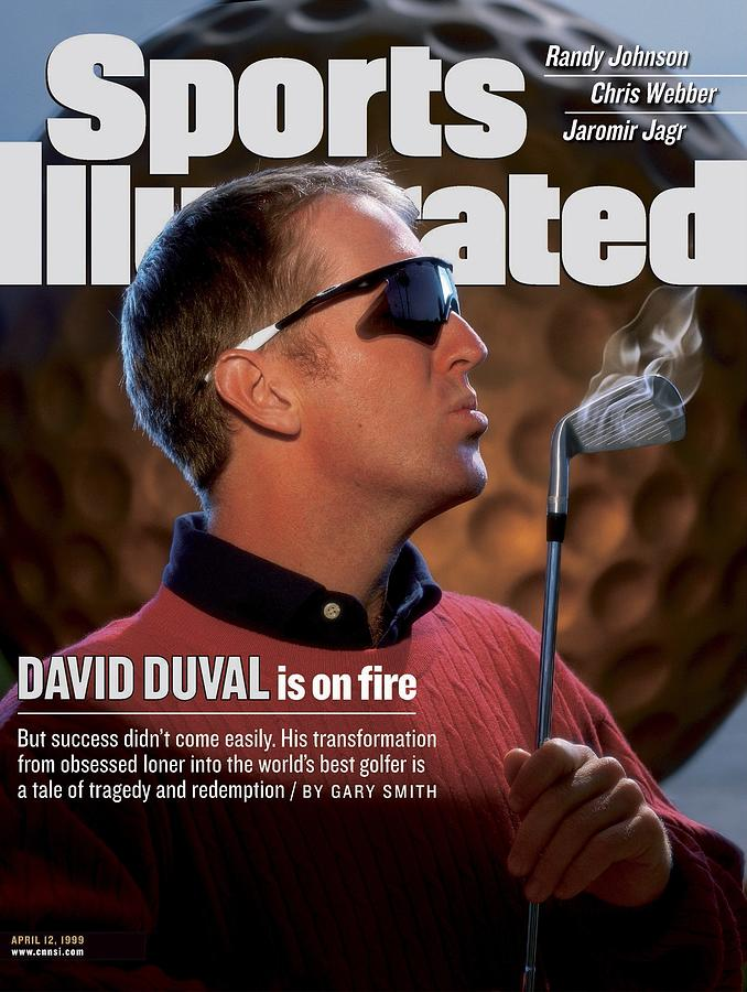 David Duval, Golf Sports Illustrated Cover Photograph by Sports Illustrated