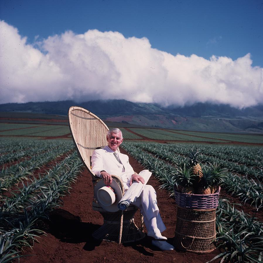 David Murdock Photograph by Slim Aarons
