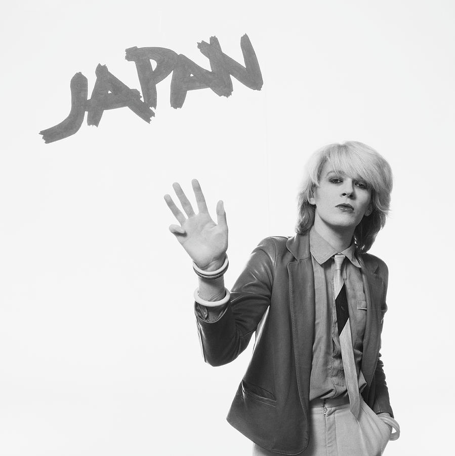 David Sylvian Of Japan Photograph by Fin Costello