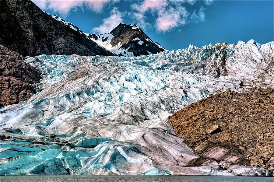 Davidson Glacier by PAUL COCO