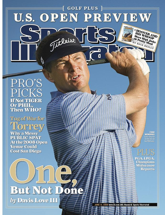 Davis Love IIi, 2006 Accenture World Match Play Sports Illustrated Cover Photograph by Sports Illustrated