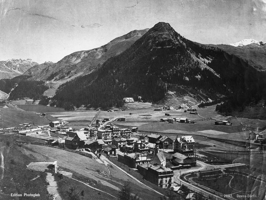 Davos Photograph by Hulton Archive