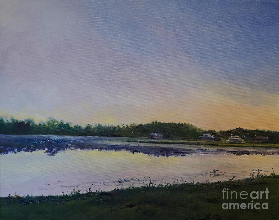 Dawn at Carrollwood Village Park by Barbara Moak