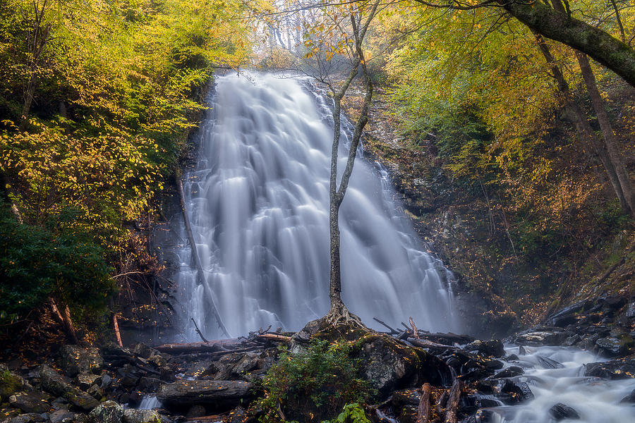 Dawn At Crabtree Falls by Mike Koenig