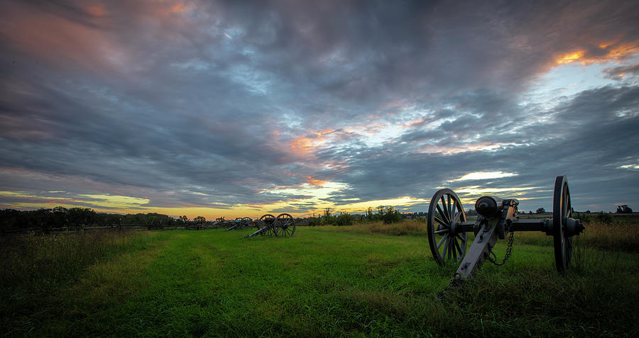 Dawn at Gettysburg by Ronald Santini