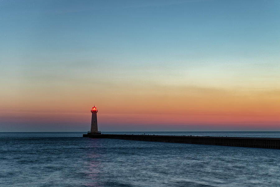 Dawn at Sodus Point by Rod Best