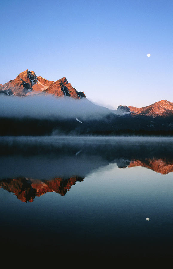 Dawn At Stanley Lake, Sawtooth Photograph by Holger Leue
