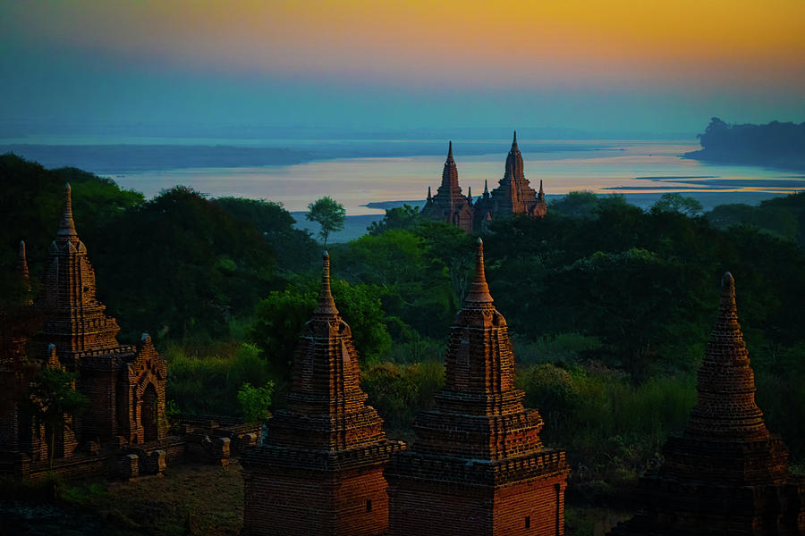 Dawn In Bagan by Chris Lord