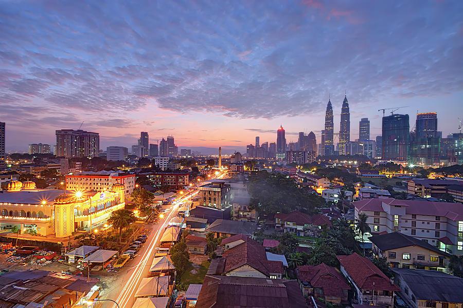 Dawn In Kuala Lumpur Photograph by Tuah Roslan