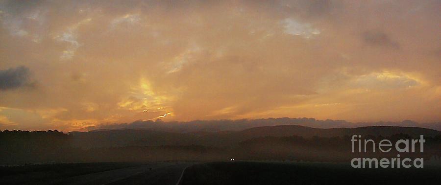 New York State Digital Art - Dawn in Sushan by Alan Del Vecchio