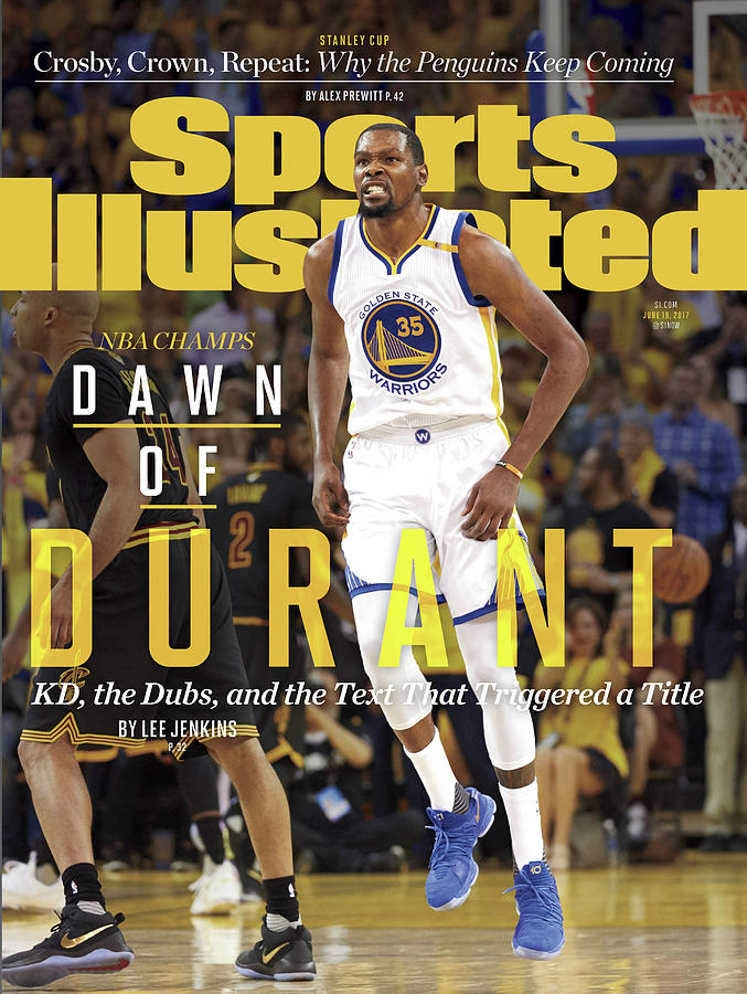 Dawn Of Durant Kd, The Dubs, And The Text That Triggered A Sports Illustrated Cover Photograph by Sports Illustrated